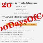 #100DaysOfCode – Day 20