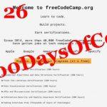 #100DaysOfCode – Day 26