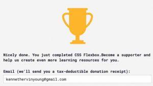 Blog_#Blog #100DaysOfCode Day 6 Award CSS Flexbox Trophy