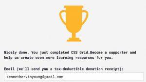 Blog_#Blog #100DaysOfCode Day 6 Award CSS Grid Trophy