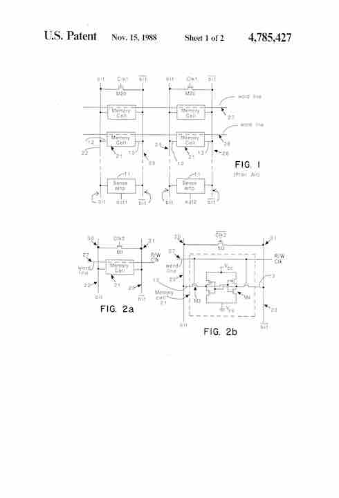 Patent-US4785427-drawings-page-1